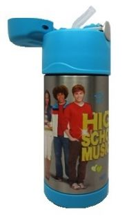 Thermos Funtainer Kids bottle HIGH SCHOOL MUSICAL 12oz Stainless Steel