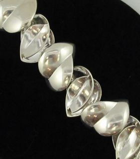Frank Gehry Tiffany Co Hearts Bracelet Sterling Silver $1 150 Retail