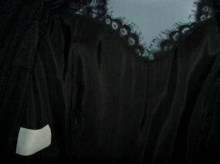 Womens Elegant Vintage Cachet Bari Protas Black Lace Cocktail Dress