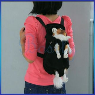 Nylon Pet Puppy Dog Carrier Backpack Front Net Bag Tote Carrier Any