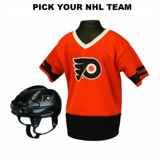 Franklin NHL Team Uniform Set Kids Youth Hockey Costume One Size Fits