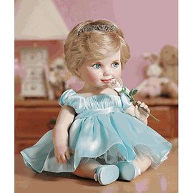 Franklin Mint Princess Diana Porcelain Baby Doll ZN22