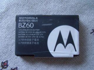 MOTOROLA OEM BZ60 BATTERY FOR RAZR V3A V3XX