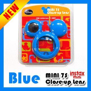 fuji instax mini 7s close up lens self mirror blue