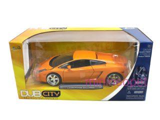 Jada Dub City Lamborghini Gallardo 1 24 Diecast Orange