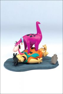 Hanna Barbera 2 The Flintstones Fred Dino Figure