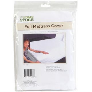 FULL SIZE MATTRESS COVER Durable Extra Soft Plastic Fitted Protector