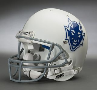 Duke Blue Devils 1966 1969 Gameday Football Helmet
