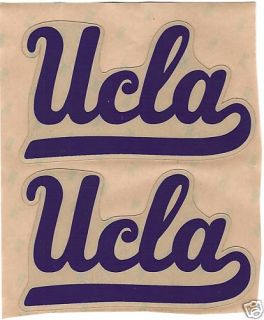 UCLA Bruins FULL SIZE FOOTBALL HELMET DECALS