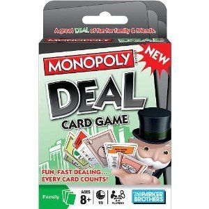 hasbro games monopoly deal card game new monopoly deal card game that