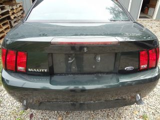 2001 Ford Mustang Bullitt Factory Trunk Lid 1209