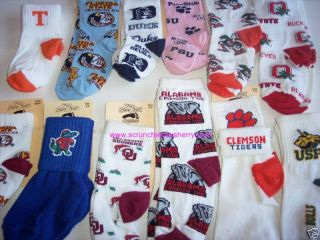 Childrens Kids Sport Novelty Socks for Bare Feet NCAA