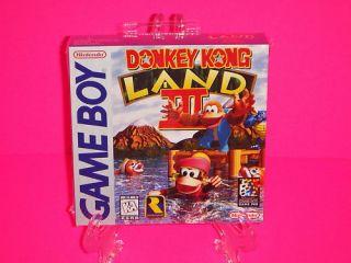 Donkey Kong Land III 3 Nintendo Game Boy Factory SEALED