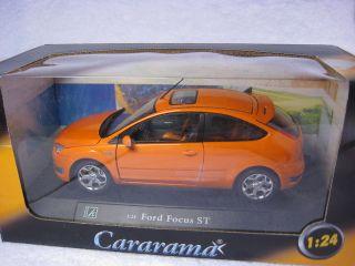 Ford Focus St Orange Cararama Diecast Collection Car Model 1 24 1 24