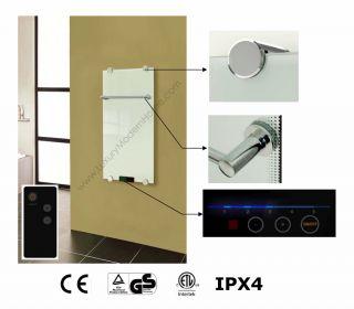modern glass radiator electric radiant heat panel heating system 2