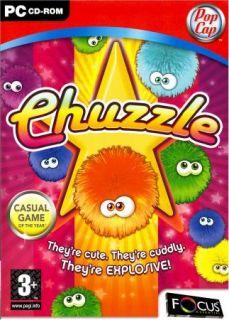 CHUZZLE PC GAME (DVD STYLE BOX) WINDOWS 98 ME 2000 XP VISTA NEW