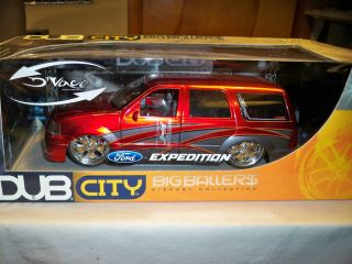 Jada 1 18 Dub City Big Ballers Ford Expedition New SEALED in Box