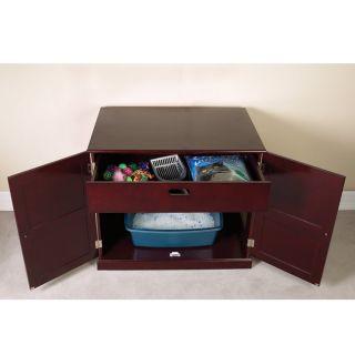 pet studio litter box cabinet this handsome pet studio litter box