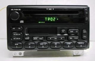 Ford Explorer 02 05 Mustang 01 04 Mountaineer 02 04 CD Cassette Player