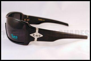 Locs Mens Sunglasses Gangster Cholo Shades Dark Black New