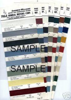 1967 FORD MUSTANG GALAXIE MERCURY COUGAR LINCOLN FAIRLANE LTD 67 PAINT