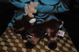 Ganz Webkinz Christmas Reindeer Plush Reindeer Stuffed Animal 10 Cute