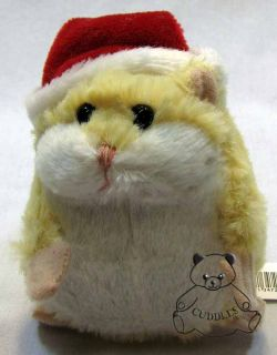 Lil Hamster Santa Hat Ganz Plush Stuffed Animal New YL