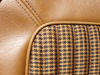 Early Ford Bronco Seat Covers Ginger Houndstooth