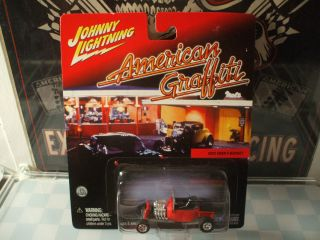 Johnny Lightning 1923 Ford T Bucket Street Rod American Graffiti LQQK