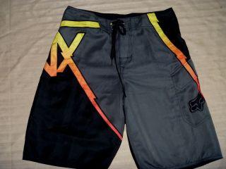 Mens Fox Racing Board Shorts Size 31 BNWOT