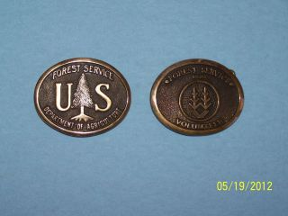 Forest Service Belt Buckle Two