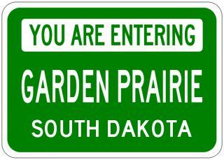 Garden Prairie South Dakota You Are Entering Aluminum City Sign