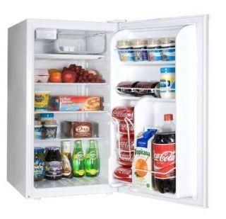 CU ft White Compact Mini Refrigerator Freezer Fridge Small Dorm