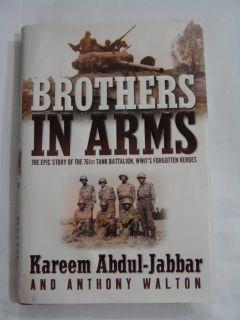 Brothers in Arms ⊰♥⊱ Kareem Abdul Jabbar Anthony Walton HB DJ