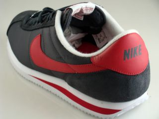Nike Cortez Vtg Forrest Gump Black Red Nylon Shoes