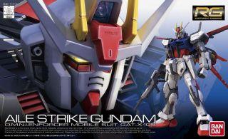 Gundam Seed 1/144 RG #03 GAT X105 Aile Strike Bandai 169492 Real Grade