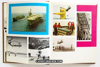 USS Forrestal CVA 59 Mediterranean Cruise Book 1972 1973