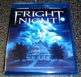 Fright Night 1985 Version Blu Ray Twilight Time Limited Roddy McDowall