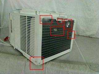Frigidaire FRA106CV1 Energy Star 10 000 BTU 115 Volt Window Mounted