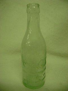 Coca Cola Straight Sided Soda Bottle Fort Scott Kansas