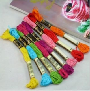 Thread 25 Floss Thread Skeins Friendship Bracelet Needlepoint