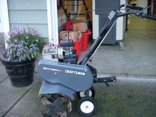 Craftsman Front Tine Tiller 5.5 HP/26 . Power Reverse