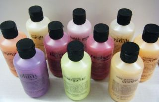 Yummy Bath Shower Gels You Pick French Vanilla Sugar Plum Frost