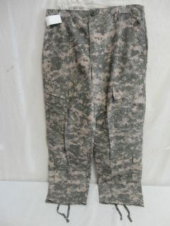 New US Military Uniform ACU Fire Resistant Pant Set Sz Medium Short