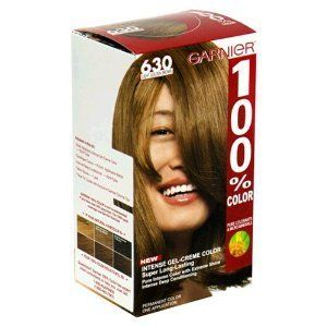 Garnier 630 Light Golden Brown Hair Dye Hair Color