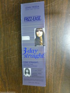Brand New John Frieda Frizz Ease 3‑Day Straight Styling Spray 3 5 Oz