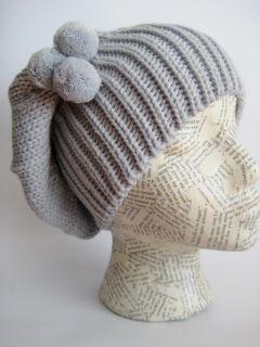 Women Slouchy Beanie Hat White M105W Frost Hats Knit Beanie Hat