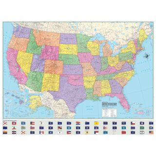 USA United States World Wall Maps Posters Murals