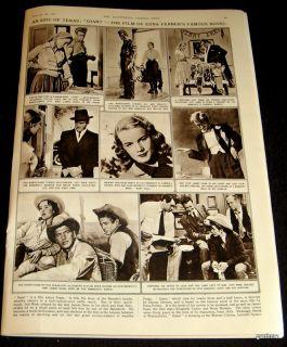 JAMES DEAN & ROCK HUDSON 1957 GIANT THE FILM PICTORIAL ELIZABETH