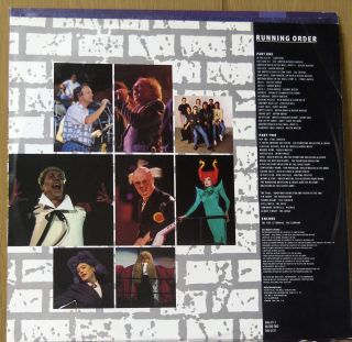 Roger Waters of Pink Floyd Vinyl The Wall Live in Berlin Double LP